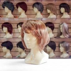 Искусственный парик светло - каштановый