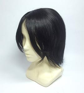 Натуральный парик, короткие волосы без челки Parik-Parik.ru
