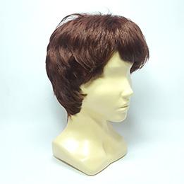 Парик из искусственних ружих волос купить недорого Parik-Parik.ru