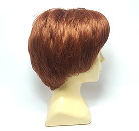 Парик из искусственных волос рыжий | Parik-Parik.ru