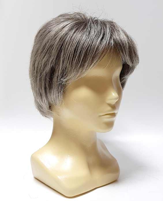 Искусственный парик седой. Parik-parik.ru