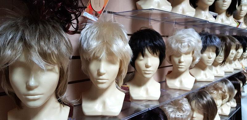 Натуральные парики в магазине