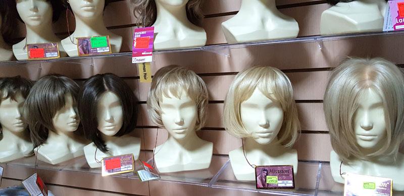 Натуральные парики в Москве