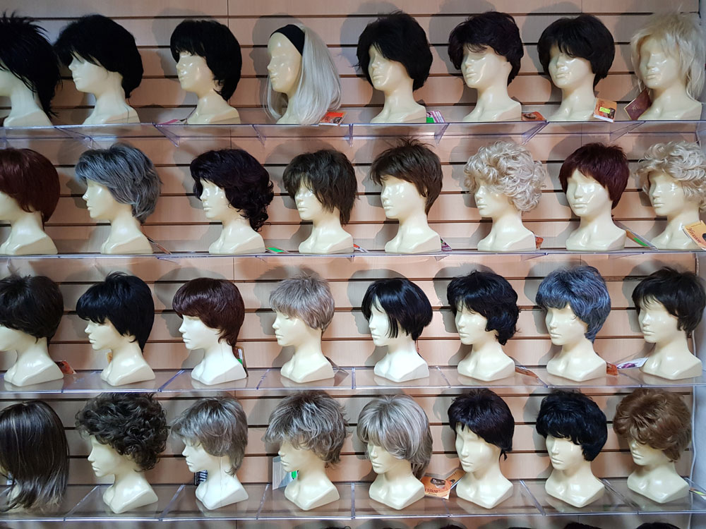 Короткие парики. Магазин париков