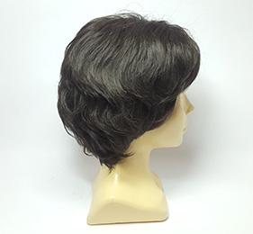 Короткий парик темные волосы от 1000 руб. Parik-Parik.ru